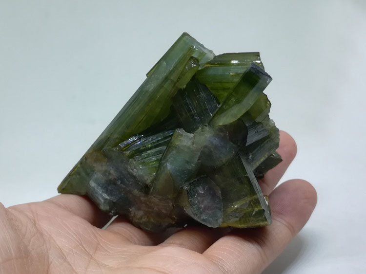 Bi color tourmaline crystal and watermelon tourmaline mineral crystal gem stone ore samples,Tourmaline,Quartz